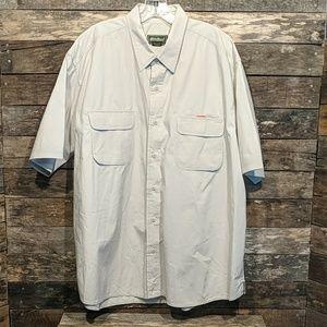 Eddie Bauer mens short sleeve shirt